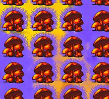 Magic Mushrooms by trashheapkult