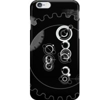 The Doctor with Cogs iPhone Case/Skin