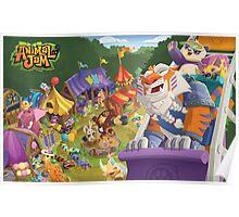 Animal Jam Carnival Poster Poster