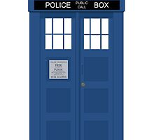Doctor Who Tardis by rosesandvervain