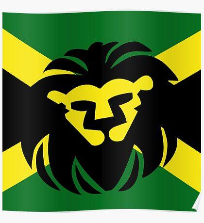 Jamaican Lion Poster