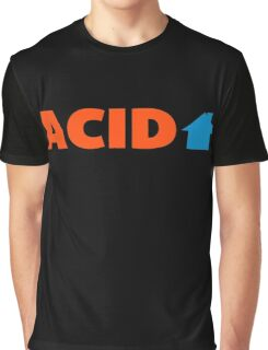 Acid House Music Quote Graphic T-Shirt