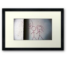 Idea or Vision . Framed Print
