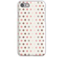 Polka - Pink iPhone Case/Skin