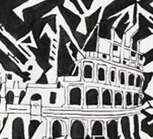 Crazy Colosseum   Sticker