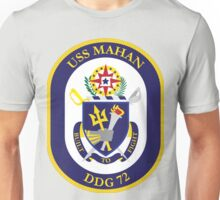 USS Mahan (DDG-72) Navy Patch Unisex T-Shirt