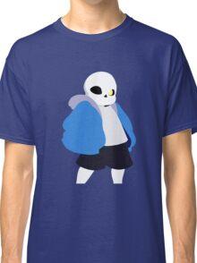 Undertale Minimalist Sans Blue Classic T-Shirt
