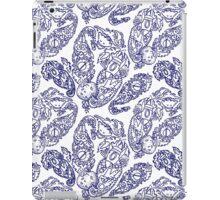Cosmic Paisley, Navy iPad Case/Skin