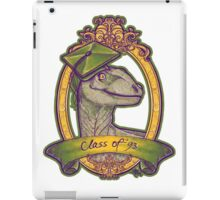 Clever Class of 93 iPad Case/Skin