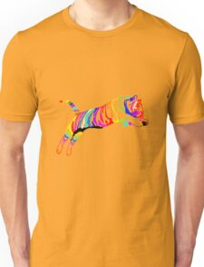 colored tiger Unisex T-Shirt