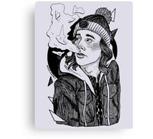 I'm Low On Gas Canvas Print