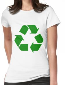 RECYCLE-2 Womens Fitted T-Shirt