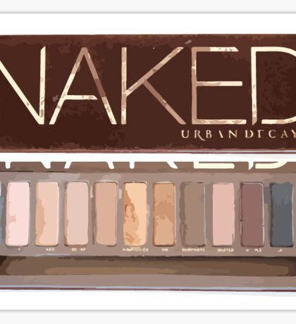 Naked Palette  Sticker