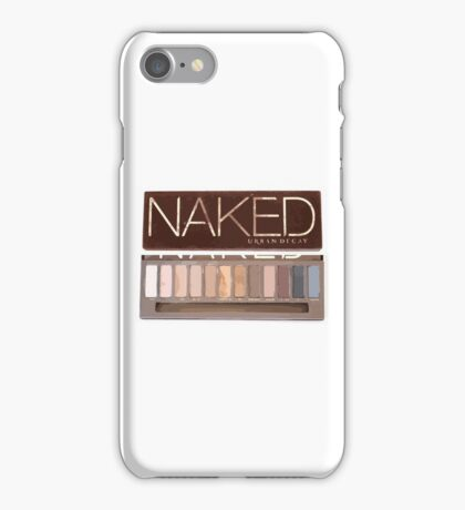 Naked Palette  iPhone Case/Skin