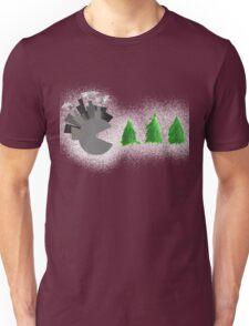 Pac Man Trees Unisex T-Shirt