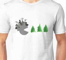 Pac Man Trees Unisex T-Shirt