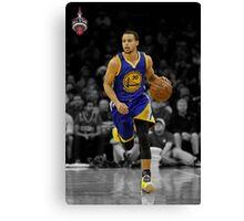 Stephen Curry All-Star Canvas Print