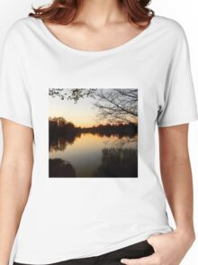 Lake Reflection Women's Relaxed Fit T-Shirt