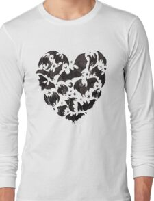Bat Heart Long Sleeve T-Shirt