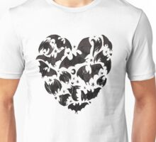 Bat Heart Unisex T-Shirt