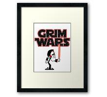 Grim Wars Framed Print