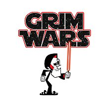 Grim Wars Photographic Print