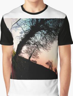 Window Sunset Reflection Graphic T-Shirt