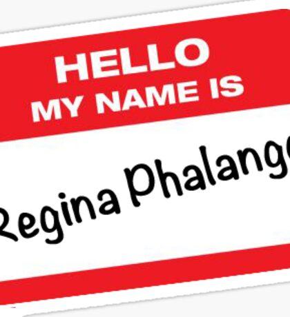FRIENDS! Regina Phalange Sticker Sticker