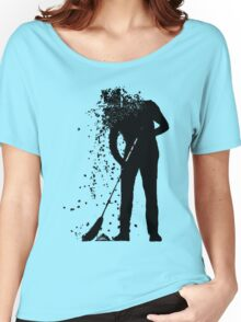 broom man Women's Relaxed Fit T-Shirt