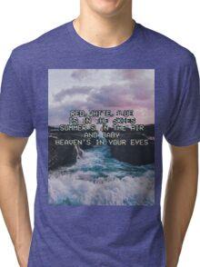 Lana Del Rey Lyrics Tri-blend T-Shirt