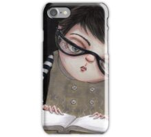 Zoey Reading the Book of Magic iPhone Case/Skin
