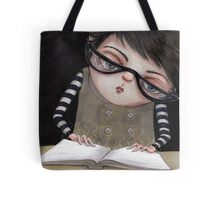 Zoey Reading the Book of Magic Tote Bag
