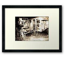 Old and Older Framed Print