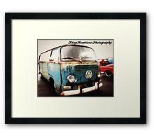 Batten Bus Framed Print