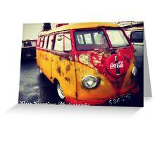 Cola Volkswagen Greeting Card