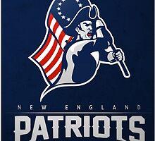 New England Patriots by sezu