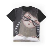 Zoey Reading the Book of Magic Graphic T-Shirt