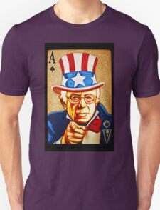 BERNIE SANDERS POCKET ACE POTUS T-SHIRT Unisex T-Shirt
