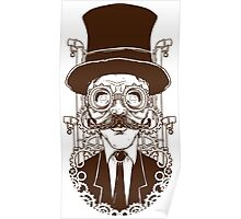 Steampunk man Poster