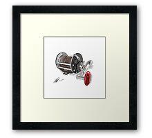 Penn Reel Framed Print