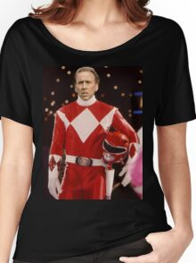 Nick Cage Red Ranger Women's Relaxed Fit T-Shirt