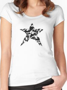 Bat Star Women's Fitted Scoop T-Shirt