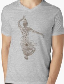 Indian Dancing Mens V-Neck T-Shirt