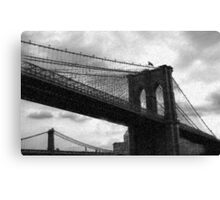 Gotham Winter Canvas Print