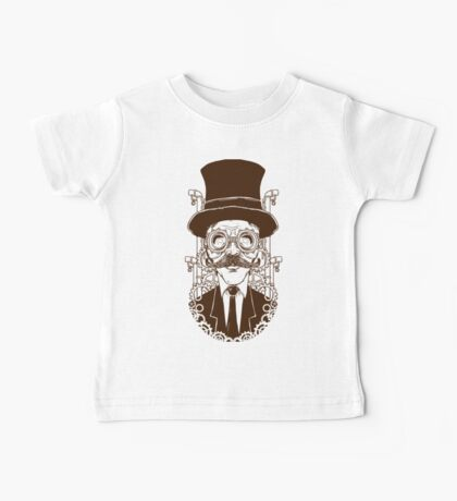 Steampunk man Baby Tee