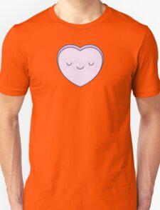 Lilac Candy Heart - XOXO Unisex T-Shirt
