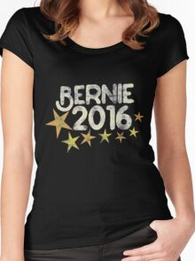 Vintage Bernie 2016 Women's Fitted Scoop T-Shirt