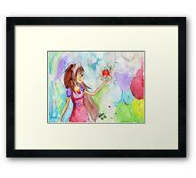 Crayola Challenge Illustration Framed Print