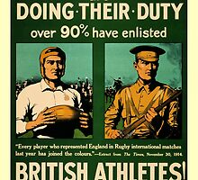 British rugby, football players call for duty by aapshop