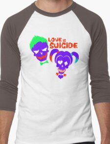 Love is Suicide Men's Baseball ¾ T-Shirt